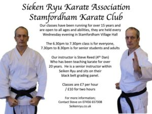 KARATE @ Village Hall - Main Hall